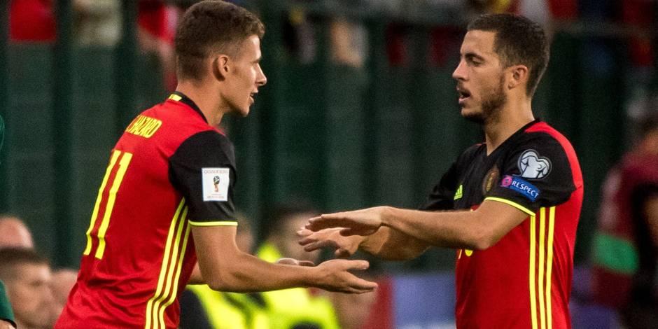 """Eden Hazard: """"Il faudra viser les demi-finales du Mondial"""""""