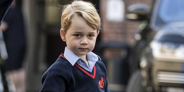 Première rentrée en maternelle pour le prince George - La DH