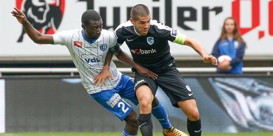 Pro League: Gand n'y arrive toujours pas cette saison, rejoint en fin de match par Genk (1-1)