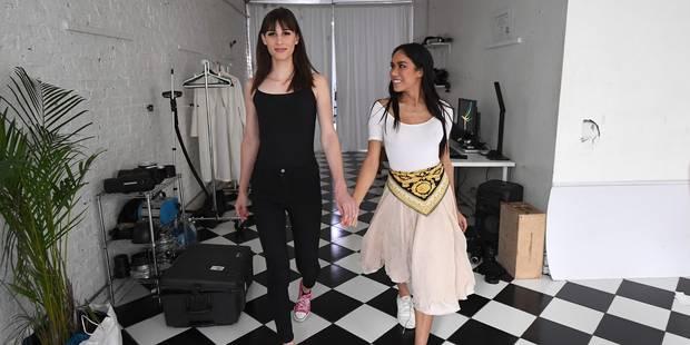 Dusty et Peche, mannequins transgenres face aux préjugés - La DH