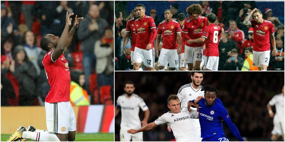 Les Belges en C1: Fellaini monte et marque, premiers buts de Lukaku et Batshuayi en Ligue des Champions! (VIDEOS)