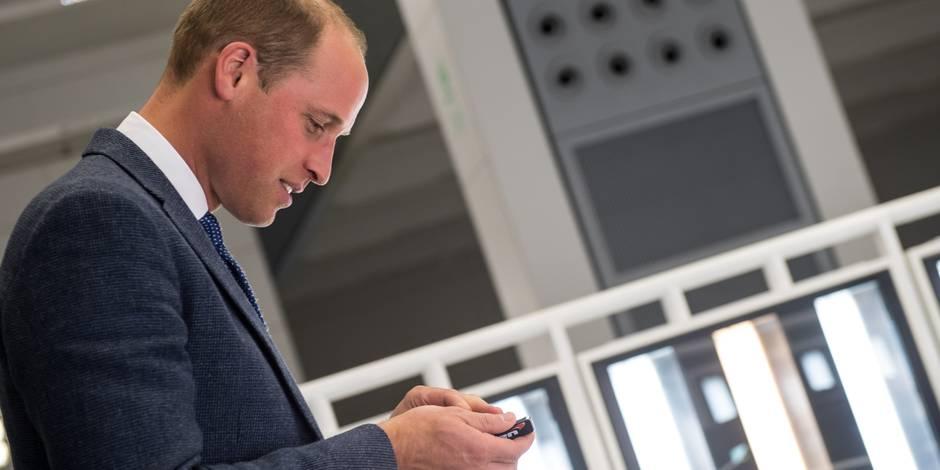 Le prince William gaffe et donne un indice sur la date d'accouchement de Kate