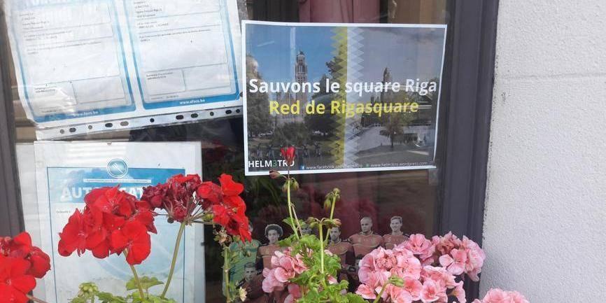 La commune de Schaerbeek demande le classement du Square Riga