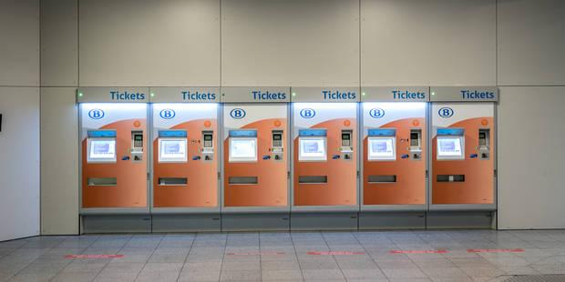 Les distributeurs de tickets automatiques de la SNCB fonctionnent tous à nouveau - La DH