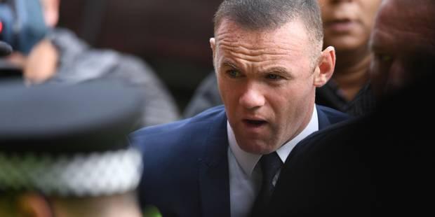 Rooney interdit de conduire pendant deux ans - La DH