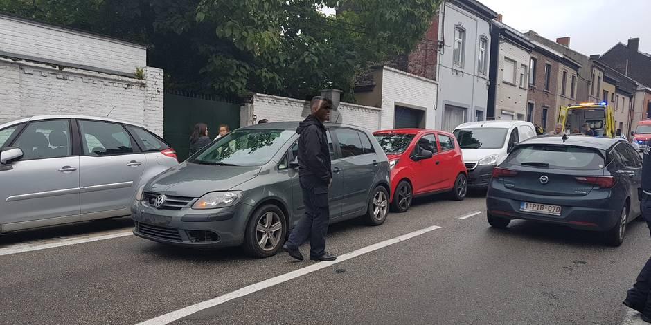 Montignies-sur-Sambre: collision en chaîne entre 4 voitures