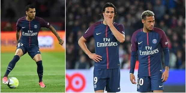 Neymar vs Cavani: la guéguerre se propage à Dani Alvès, qui pète un plomb sur Twitter - La DH