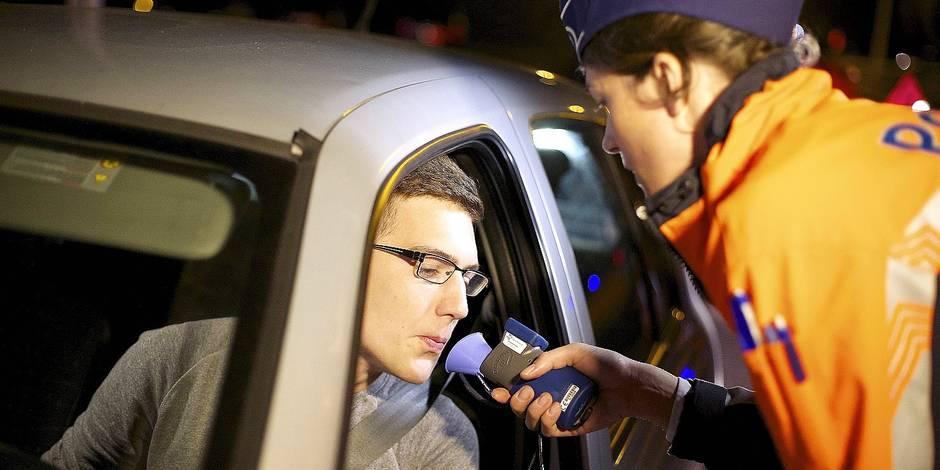 Bob : 296 conducteurs sous influence en Brabant wallon