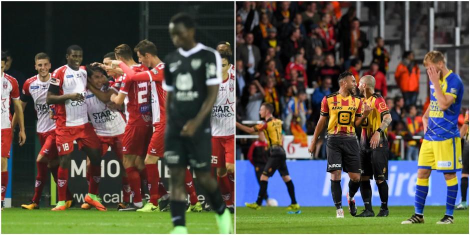 Pro League: Mouscron 3e après sa victoire face à Eupen (3-2), premier succès pour Malines