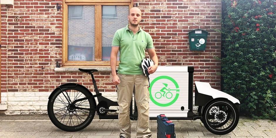 Bruxelles-ville : Le premier serrurier cycliste belge
