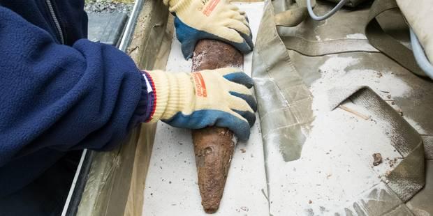 Grez-Doiceau : un obus découvert à Bossut - La DH