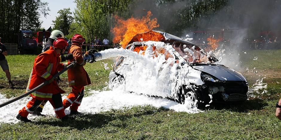 Enghien - cadets pompiers