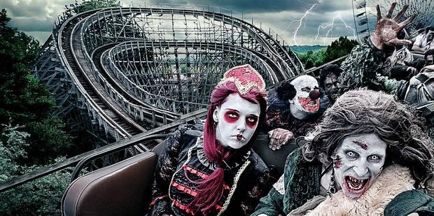 Walibi Belgique Halloween.Halloween Dans Nos Parcs Business Et Frissons La Dh