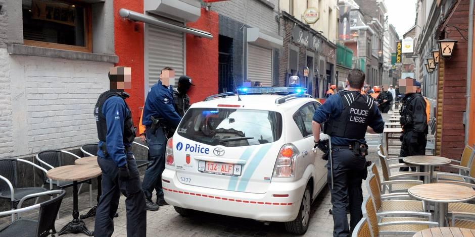Deux Liégeois interpellés à la suite d'une violente bagarre dans le Carré