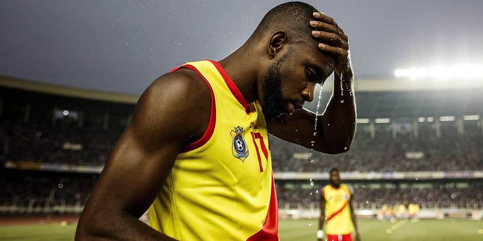Mpoku, blessé, est déjà rentré en Belgique