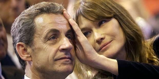 """Quand Carla Bruni évoque ses """"relations sexuelles fantastiques"""" avec Nicolas Sarkozy - La DH"""