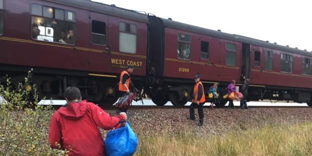 Le train d'Harry Potter vient en aide à une famille en difficulté en Ecosse - La DH