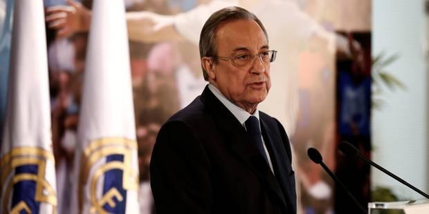 Le président du Real Madrid n'envisage pas une Liga sans le FC Barcelone - La DH