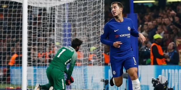 Eden Hazard marque ses deux premiers buts de la saison contre la Roma (VIDEOS) - La DH
