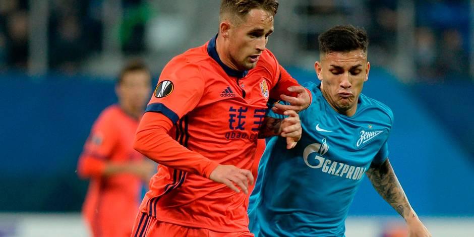 Europa League: Carton pour Januzaj avec la Real Sociedad, victoire étriquée pour Arsenal et Marseille