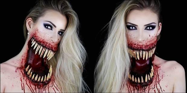 Cette vidéo sexy-gore a été vue 30 millions de fois ! C'est l'oeuvre d'une jeune make-up artist belge - La DH