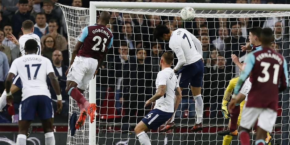 League Cup: Tottenham surpris par West Ham