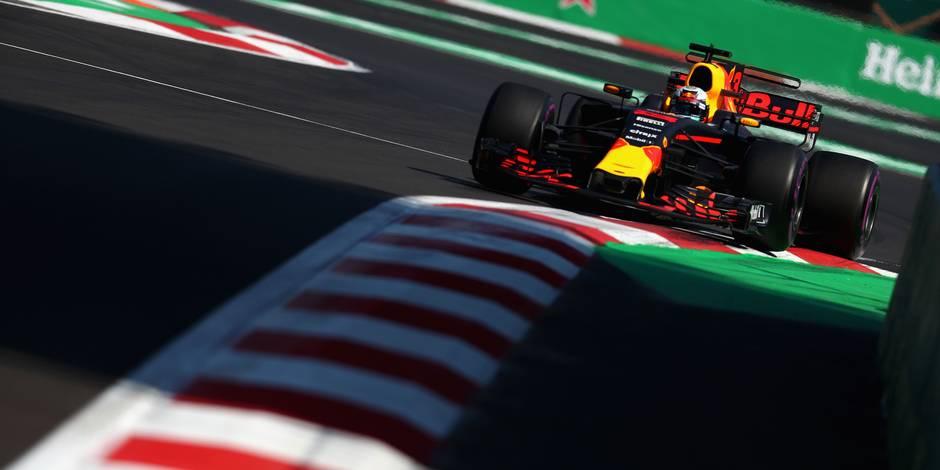 GP Mexique: Ricciardo le plus rapide de la deuxième séance d'essais libres, Vandoorne a finalement pu rouler