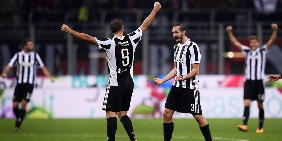 Serie A: Higuain passe le mur du 100 et assomme l'AC Milan
