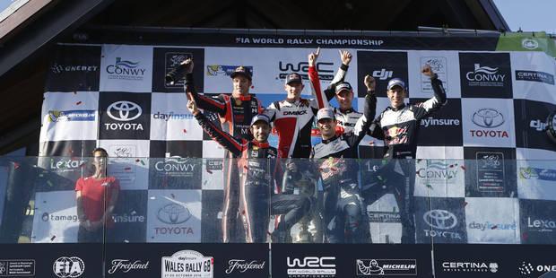 WRC: Sébastien Ogier devient champion du monde pour la 5e fois consécutive, pas de miracle pour Neuville - La DH