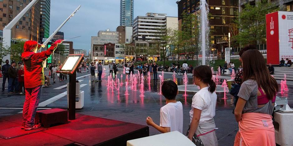 Le Quartier des Spectacles de Montréal inspire Bruxelles