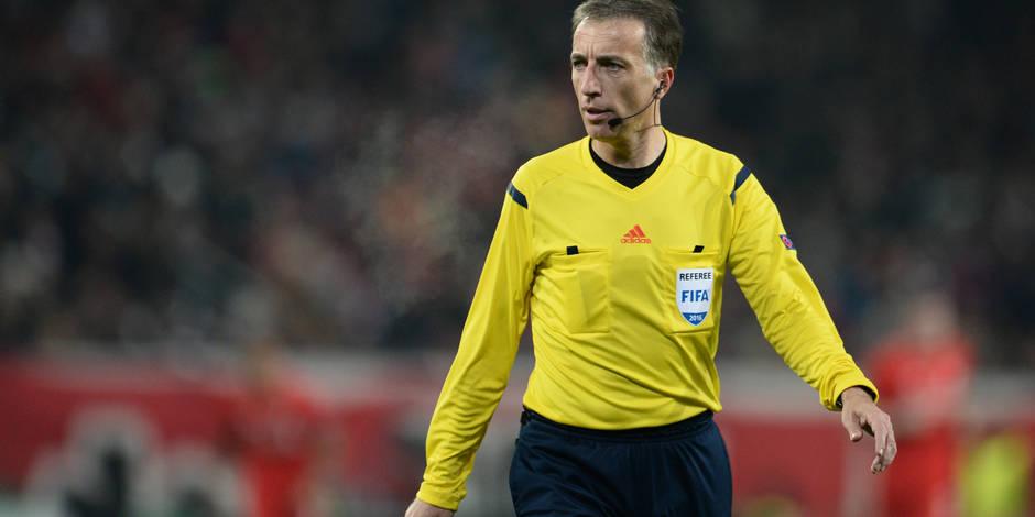 L'arbitre du match PSG-Anderlecht rappellera un bien mauvais souvenir aux Mauves...