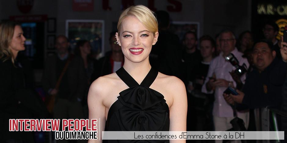"""Emma Stone: """"Aux yeux d'Hollywood je suis passée dans une autre catégorie mais ma vie est restée la même"""" - La DH"""