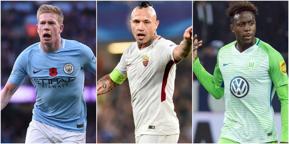 Belges à l'étranger: De Bruyne marque face à Arsenal, Nainggolan et Origi à l'assist (VIDEO)