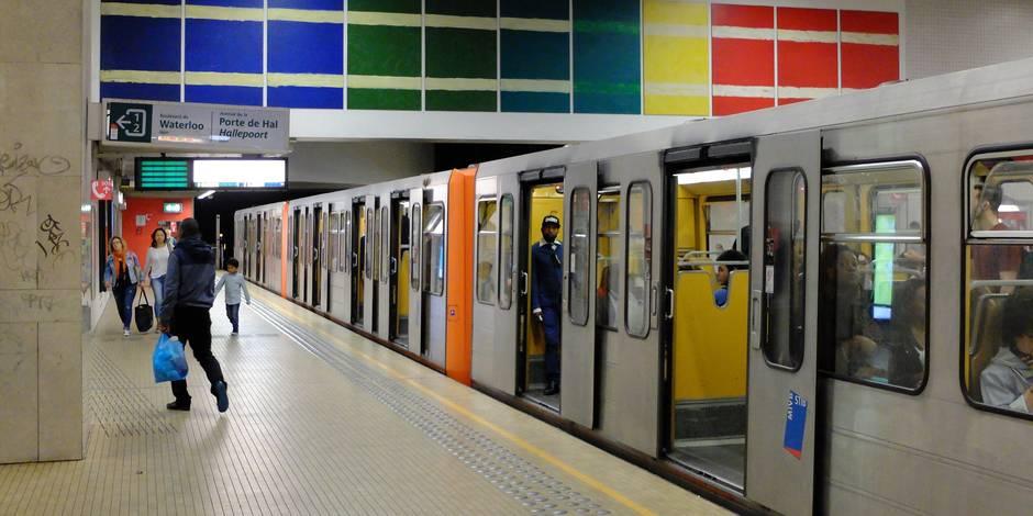 Le métro bruxellois interrompu entre Arts-Loi et Élisabeth ce week-end