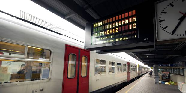 """Infrabel """"ne comprend pas bien"""" la critique sur la ponctualité des trains - La DH"""