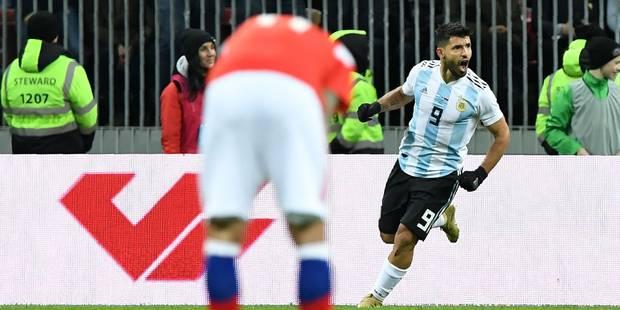 Mondial 2018 : Aguëro donne une victoire étriquée mais méritée à l'Argentine en Russie lors d'un match amical - La DH
