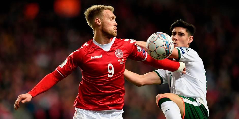 Barrages pour la Coupe du Monde: le Danemark et l'Irlande se quittent dos à dos