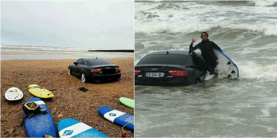Un surfeur fait une étrange découverte sur une plage de Vendée
