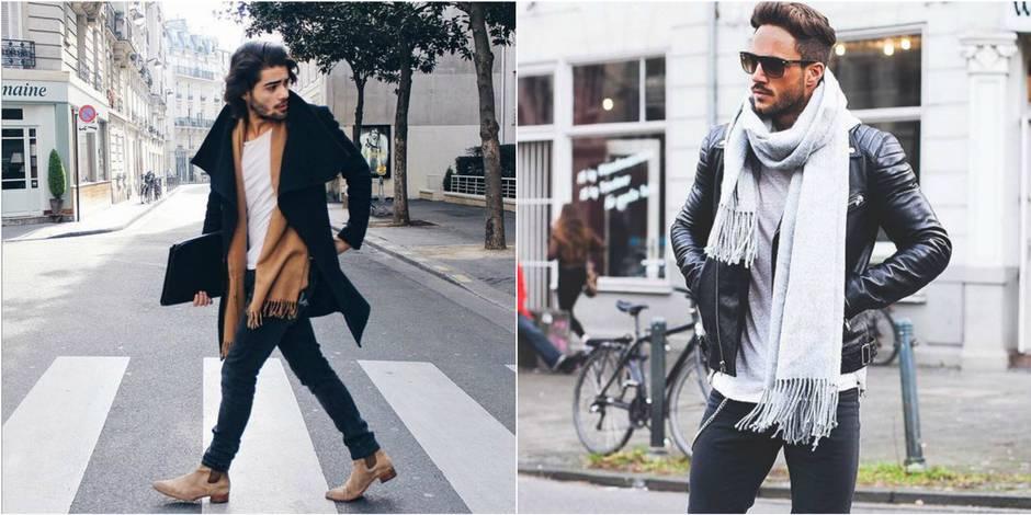 Homme : Comment nouer son écharpe avec style