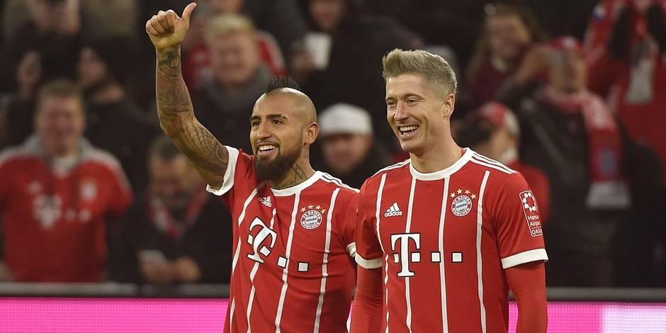 Le Bayern avale Augsburg et reste invaincu sous Heynckes avant d'affronter Anderlecht
