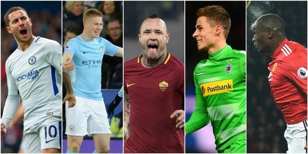 Belges à l'étranger: les frères Hazard buteurs, De Bruyne s'offre un bijou, Nainggolan et Lukaku plantent aussi (VIDEOs)...