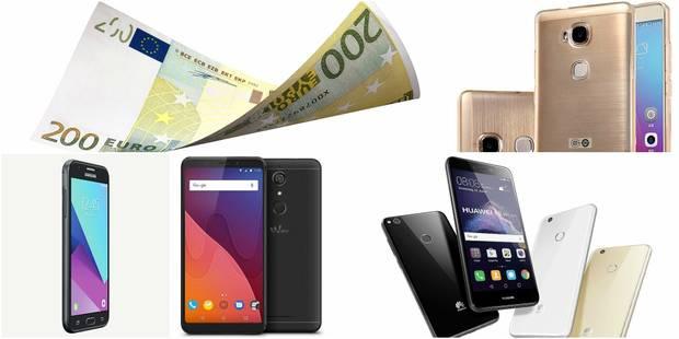 Notre sélection des smartphones à moins de 200€ - La DH