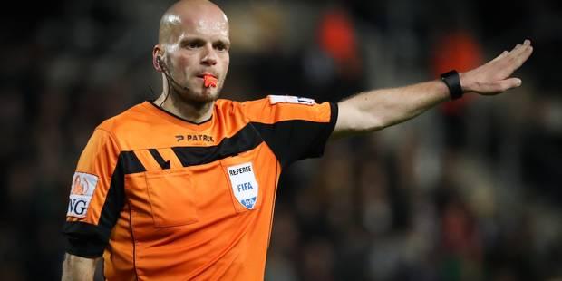 Il n'y aura pas d'arbitre belge à la Coupe du monde 2018 - La DH