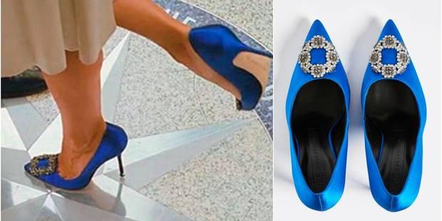 Les mythiques escarpins bleus de Carrie Bradshaw sont à vous pour une bouchée de pain - La DH