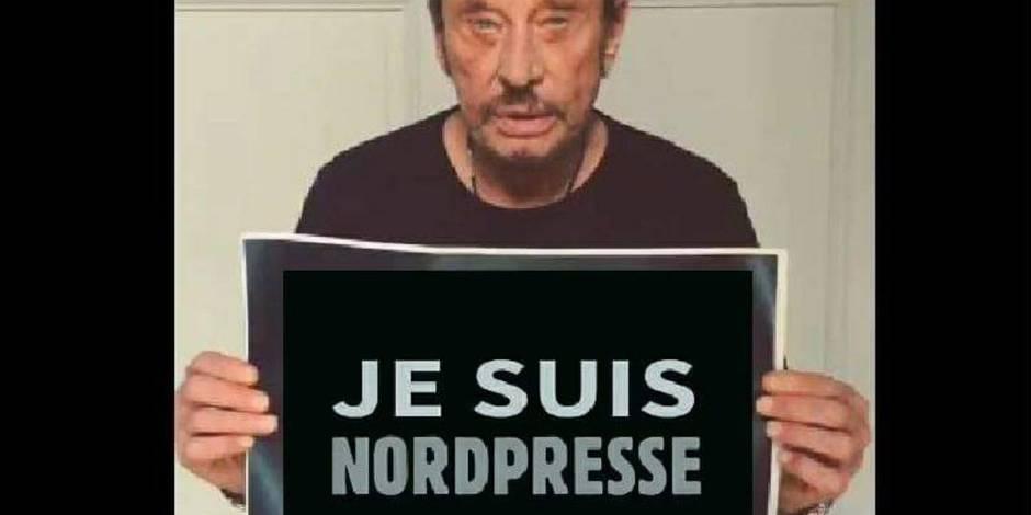 """Des fans de Johnny Hallyday, scandalisés, parviennent à """"tuer"""" la page Facebook de Nordpresse"""