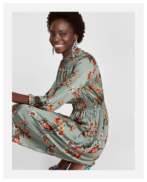 Robe mi-longue Zara, 49,95 euros - 20 %