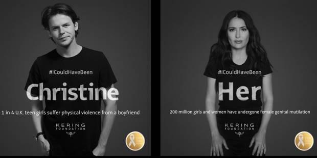 #ICouldHaveBeen : des stars s'engagent contre les violences faites aux femmes - La DH