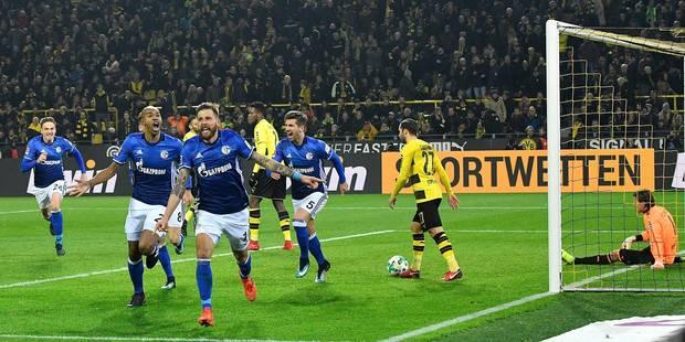 Mené 4-0 après 25 minutes, Schalke réalise une incroyable remontada à Dortmund! (VIDEO) - La DH