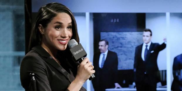 La future épouse du Prince Harry ne jouera pas dans la prochaine saison de Suits - La DH