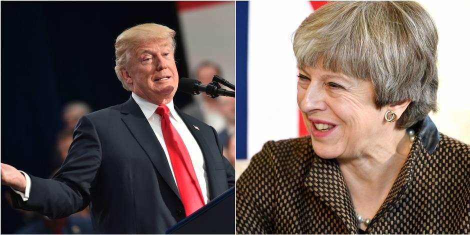 Etats-Unis: Donald Trump s'en prend à la mauvaise Theresa May sur Twitter